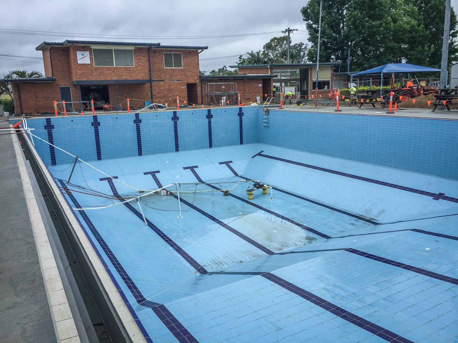 Under Construction Projects | Brisbane Inground Pool Builders